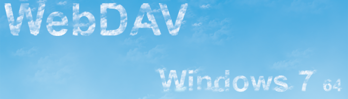 WebDAV Fix For Windows 7
